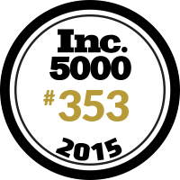 INC 5000 Rank353 2015