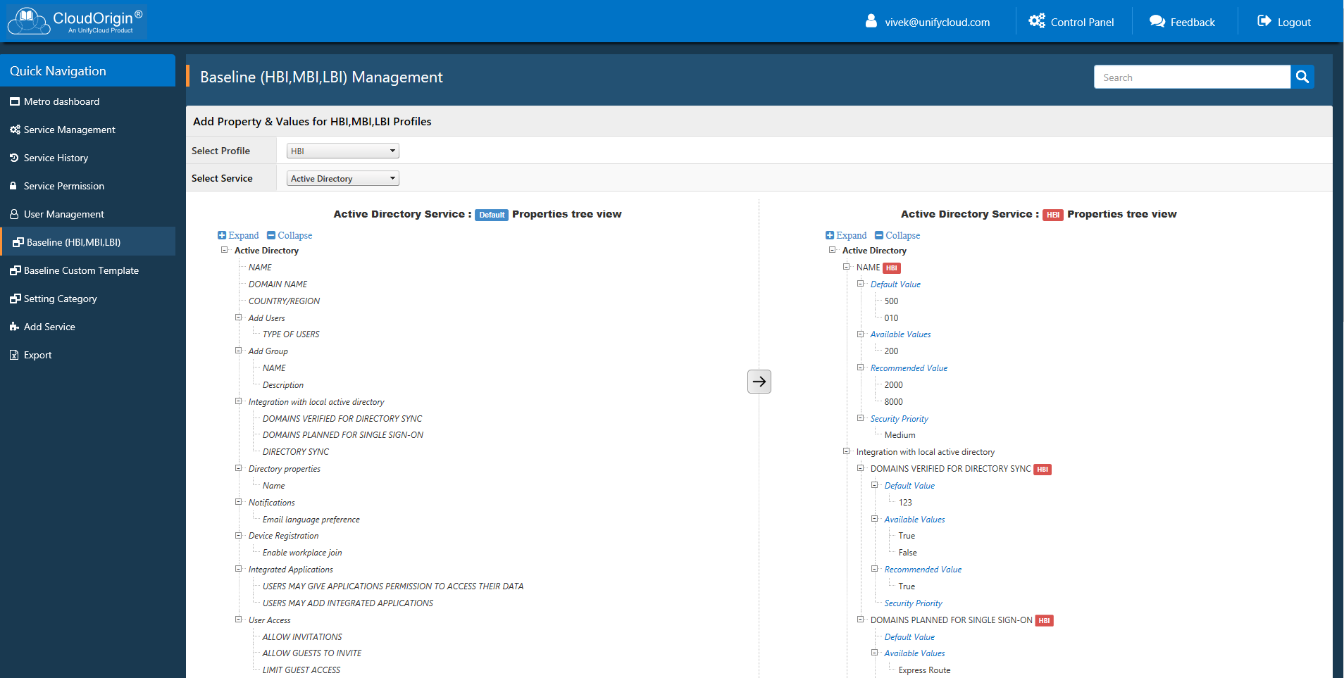 CloudOrigin Baseline Configuration Management